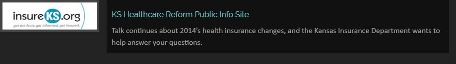 KS Healthcare Reform Public Info Site Talk continues about 2014's health insurance changes, and the Kansas Insurance Department wants to help answer your questions.